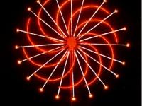 Светодиодный фейерверк «Колесо»