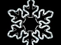 Снежинка светодиодная