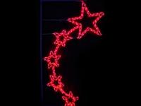 Новогодний световой мотив «Пять звезд»
