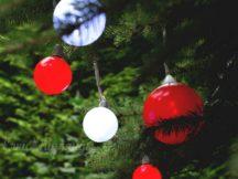 Шары на елке