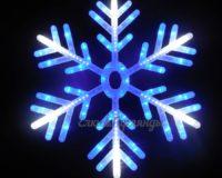 Светодиодная снежинка Льдинка