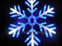 световая снежинка