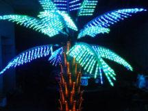 световое дерево пальма